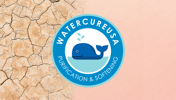 Water Cure Skin Cracking With Logo